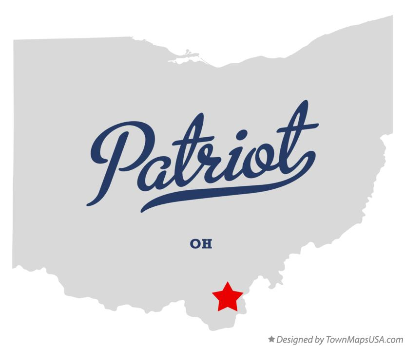 Map of Patriot Ohio OH