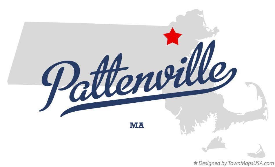 Map of Pattenville Massachusetts MA