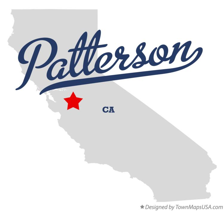 Map of Patterson California CA