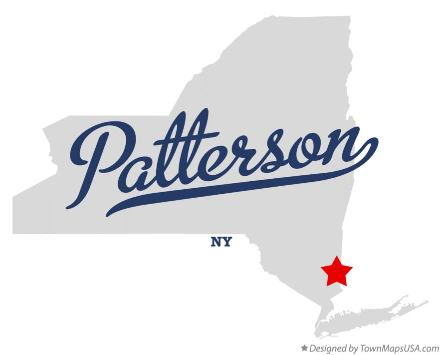 Map of Patterson New York NY