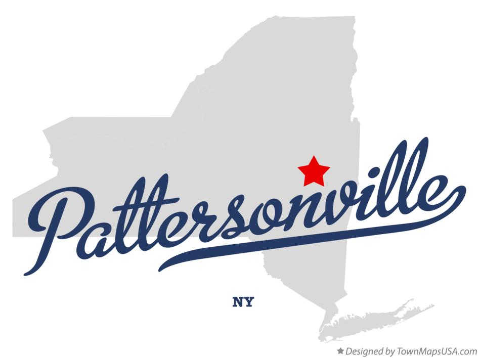 Map of Pattersonville New York NY