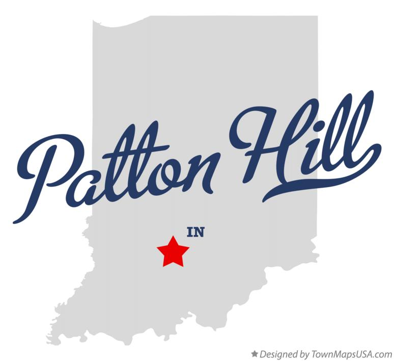 Map of Patton Hill Indiana IN
