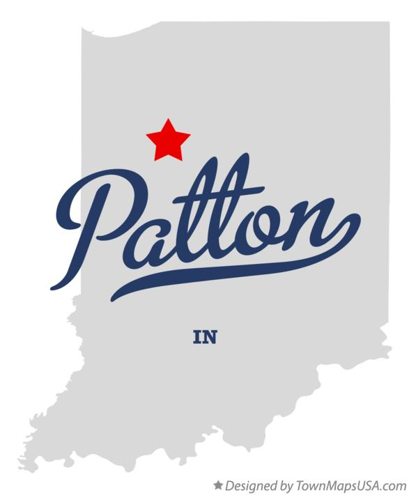 Map of Patton Indiana IN