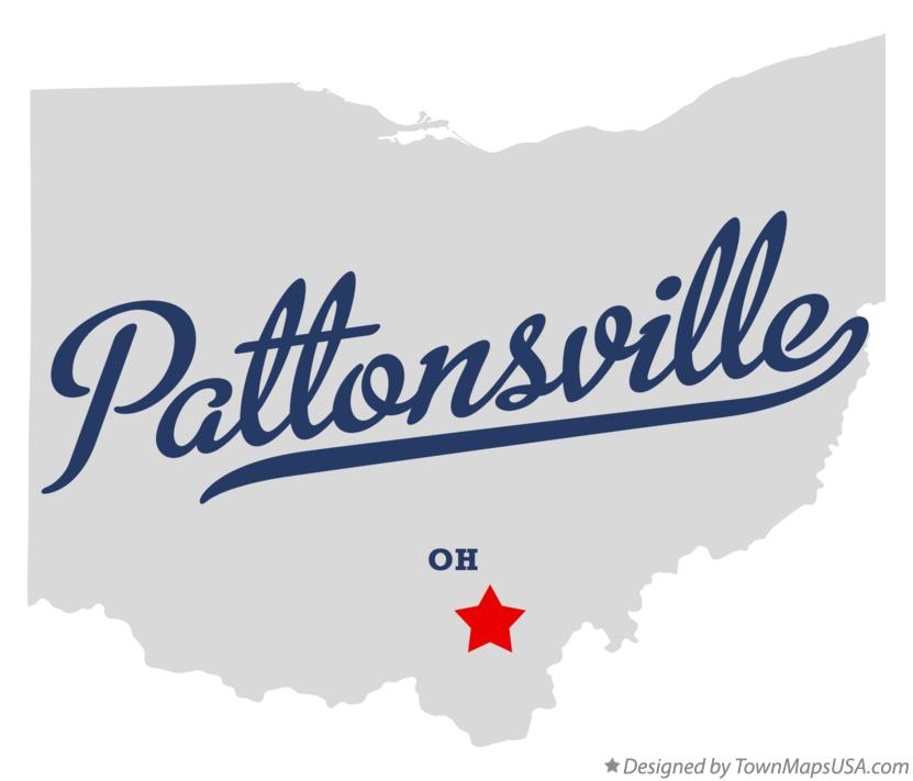Map of Pattonsville Ohio OH