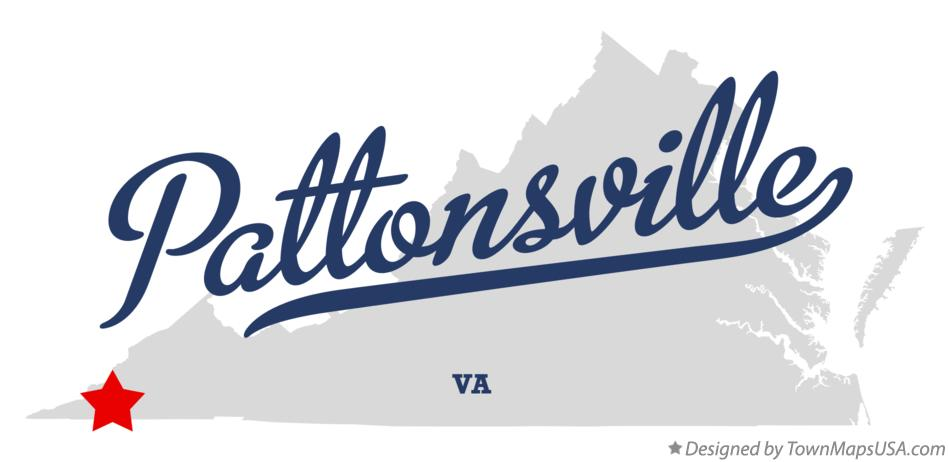 Map of Pattonsville Virginia VA