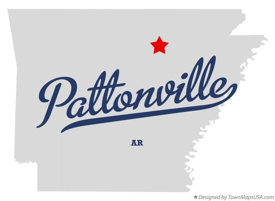 Map of Pattonville Arkansas AR