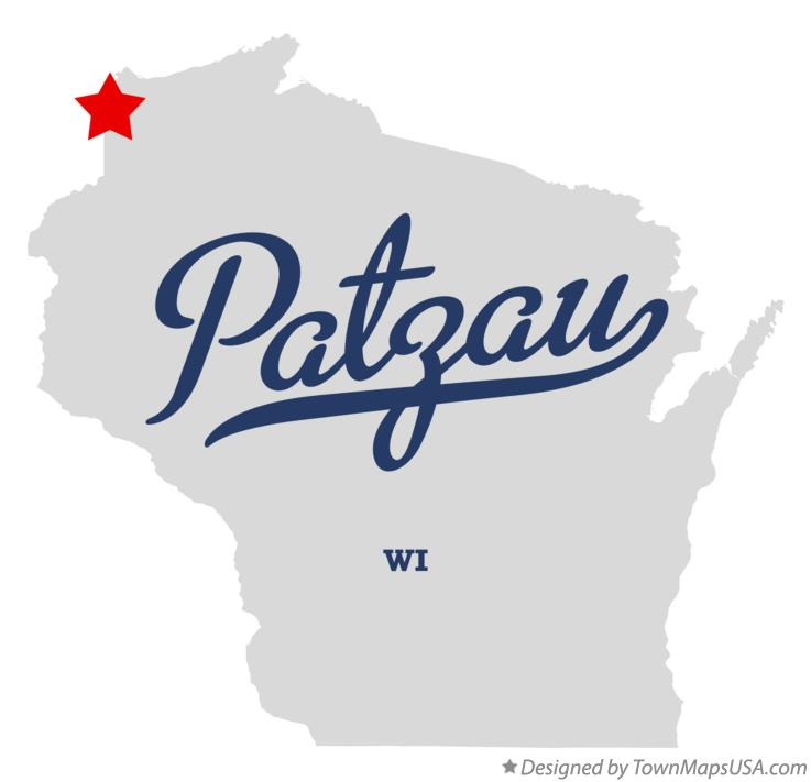 Map of Patzau Wisconsin WI