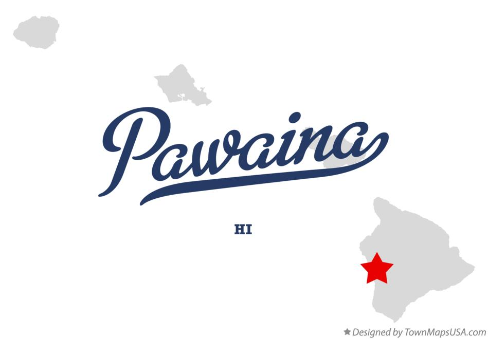 Map of Pawaina Hawaii HI