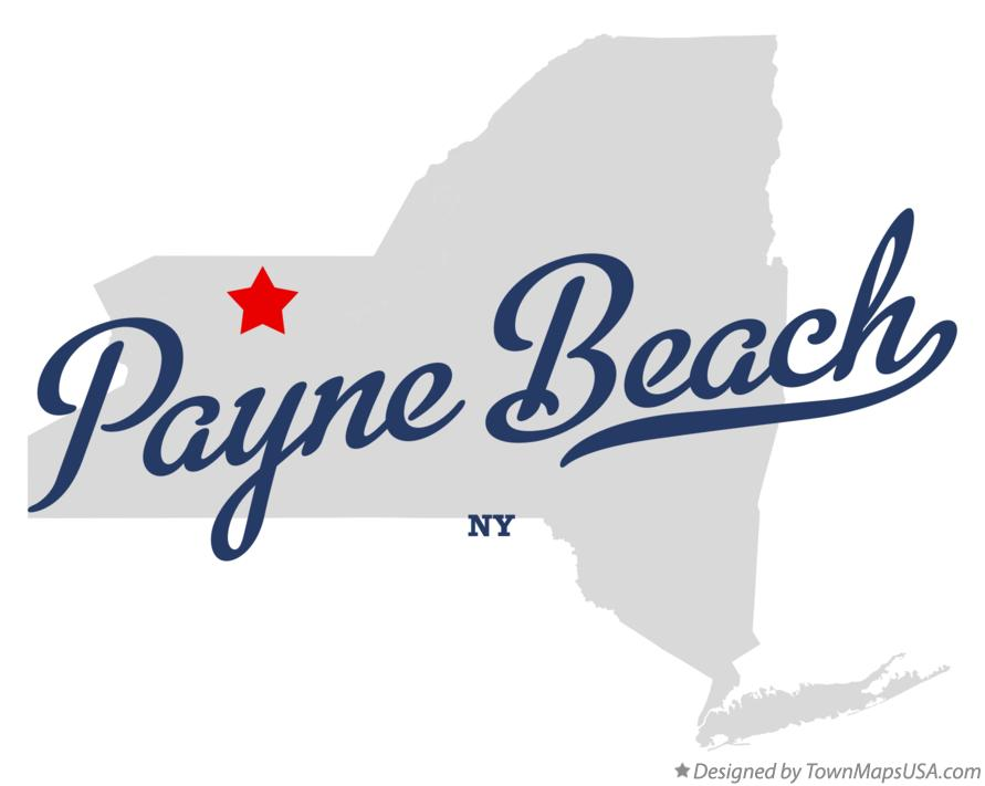 Map of Payne Beach New York NY