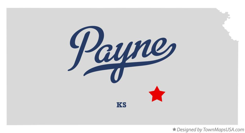 Map of Payne Kansas KS