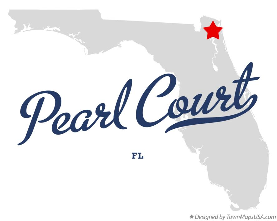 Map of Pearl Court Florida FL