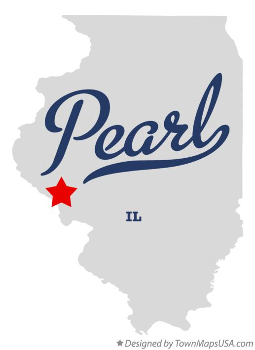 Map of Pearl Illinois IL