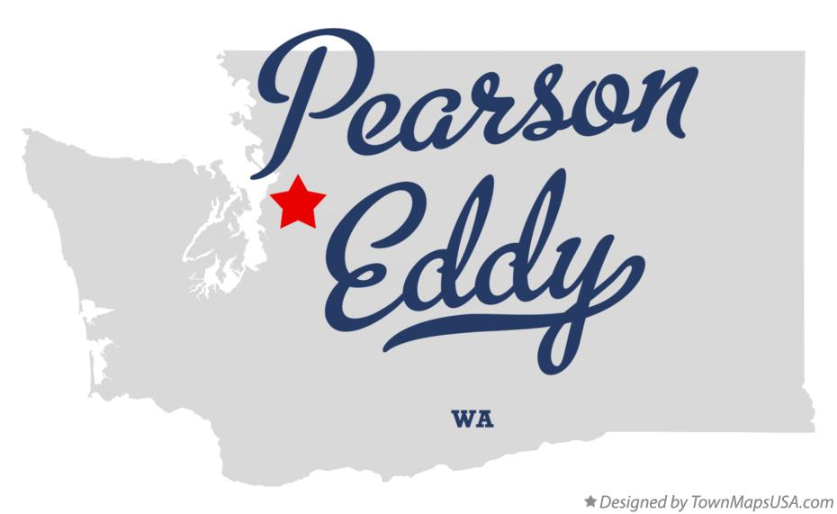 Map of Pearson Eddy Washington WA