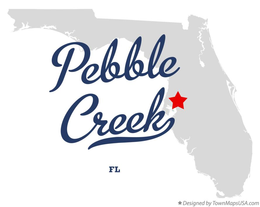 Map of Pebble Creek Florida FL