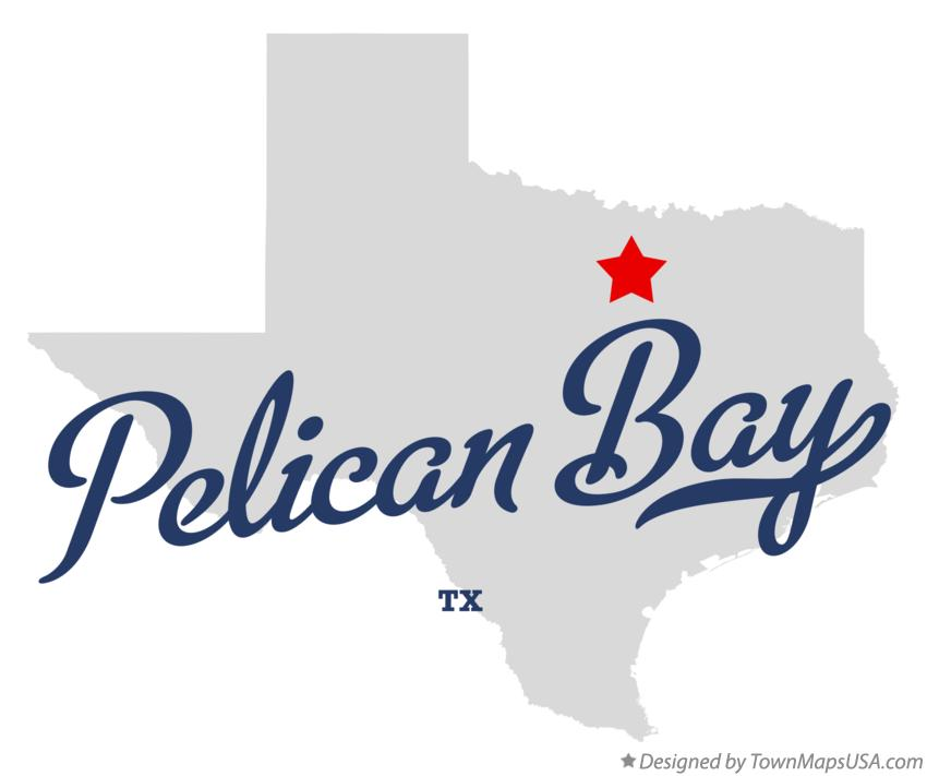 Map of Pelican Bay Texas TX