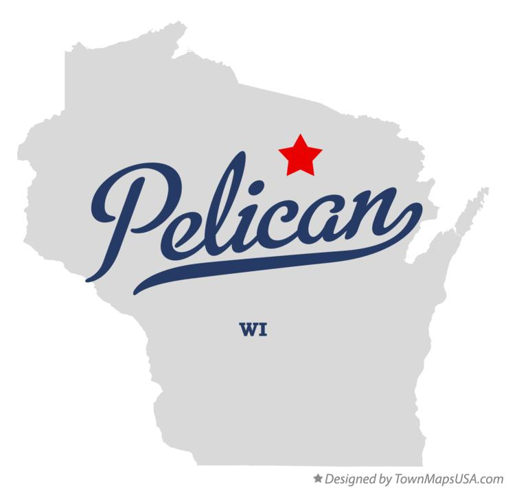 Map of Pelican Wisconsin WI