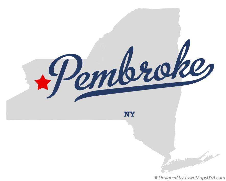Map of Pembroke New York NY
