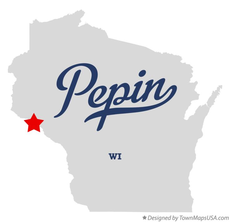Map of Pepin Wisconsin WI