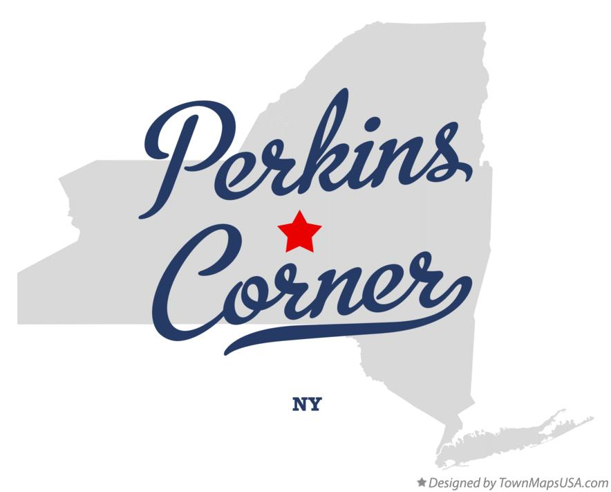 Map of Perkins Corner New York NY