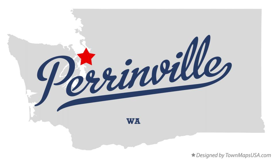Map of Perrinville Washington WA