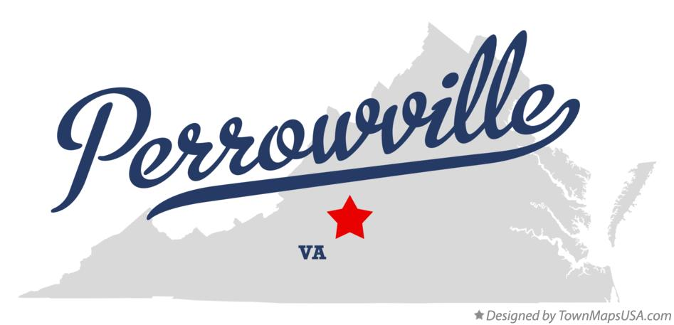 Map of Perrowville Virginia VA