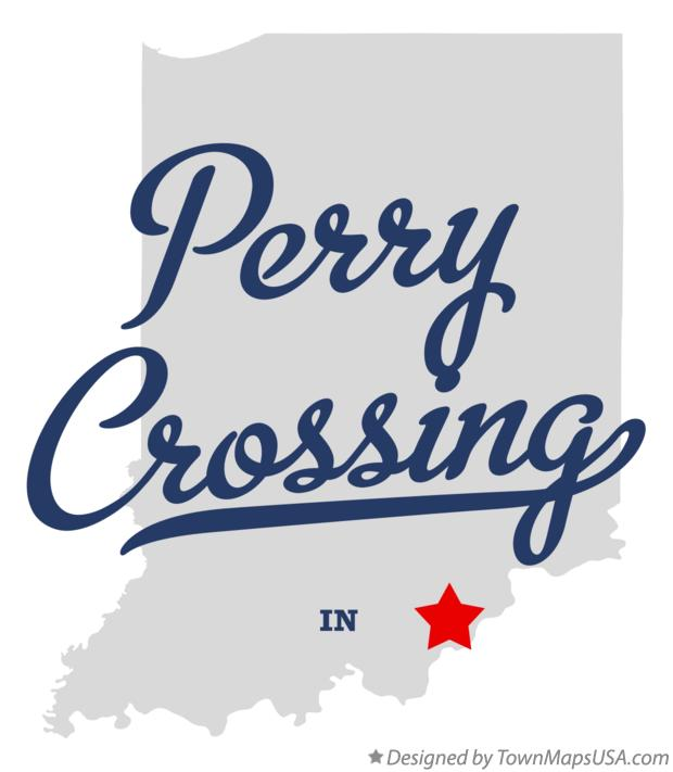 Map of Perry Crossing Indiana IN