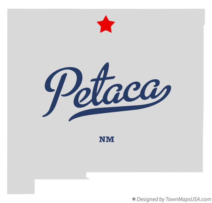 Map of Petaca New Mexico NM