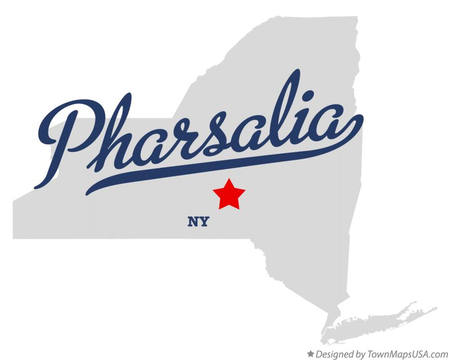 Map of Pharsalia New York NY