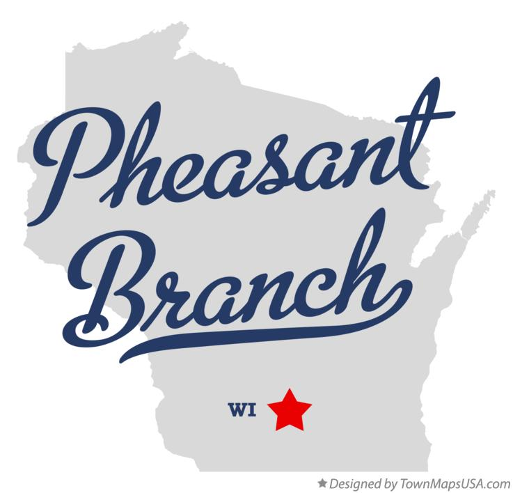 Map of Pheasant Branch Wisconsin WI