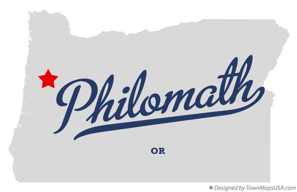 Map Of Philomath Oregon Map of Philomath, OR, Oregon