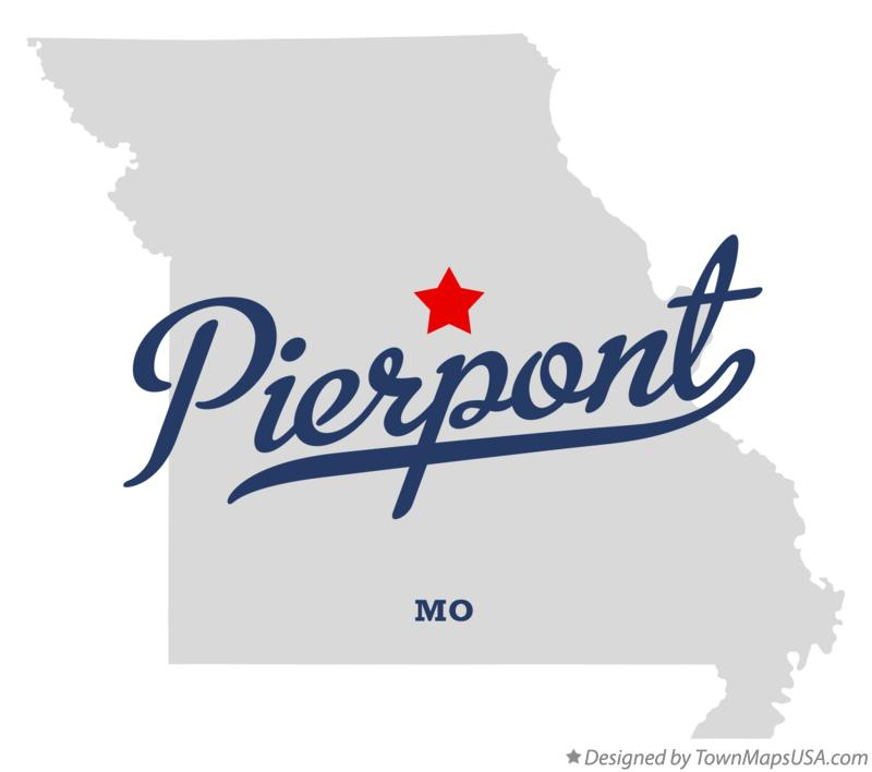 Map of Pierpont Missouri MO