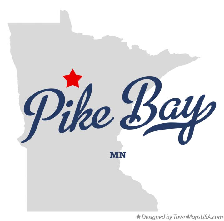 Map of Pike Bay Minnesota MN