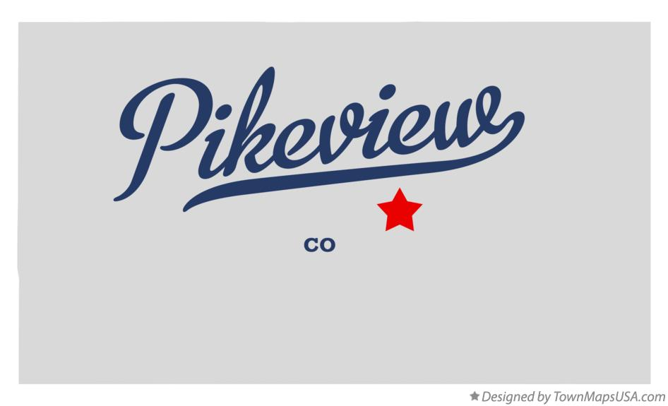 Map of Pikeview Colorado CO