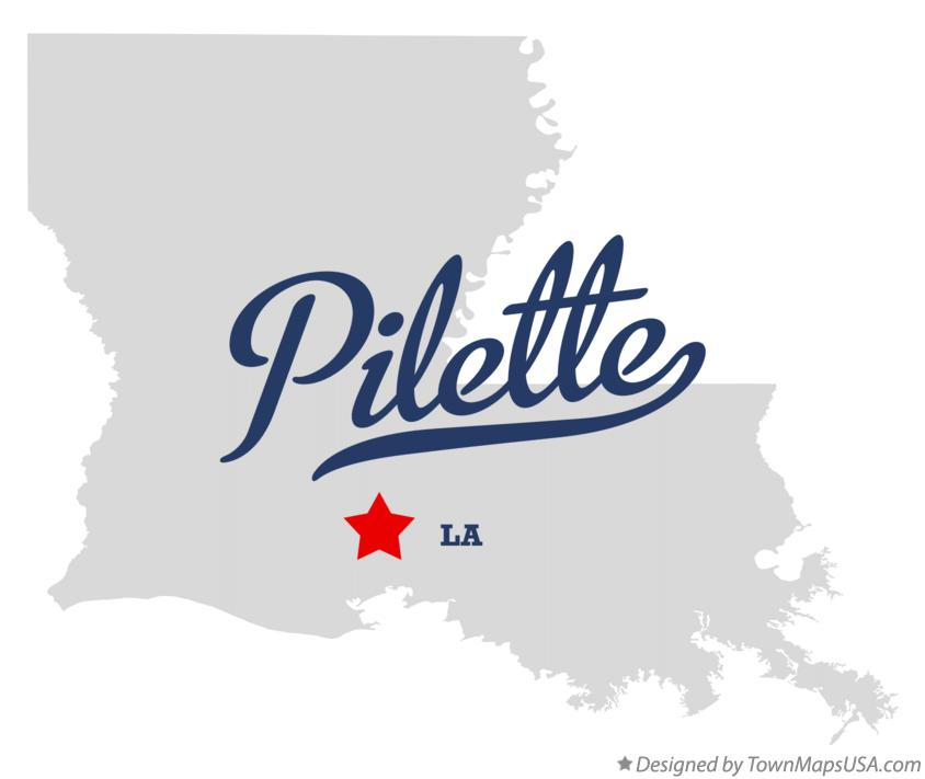 Map of Pilette Louisiana LA