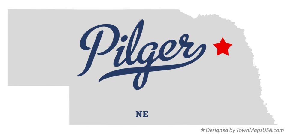 Map of Pilger Nebraska NE