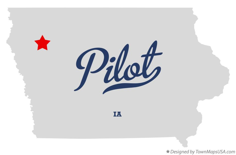 Map of Pilot Iowa IA