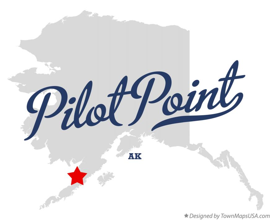Map of Pilot Point Alaska AK