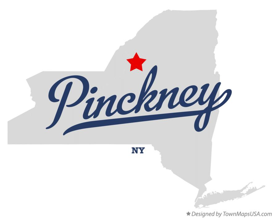 Map of Pinckney New York NY