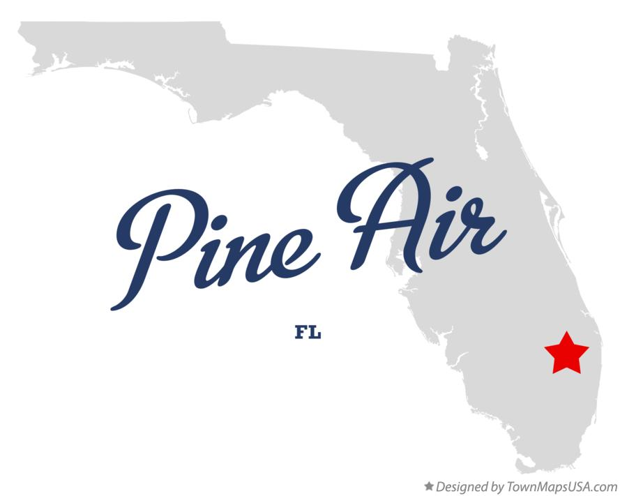 Map of Pine Air Florida FL