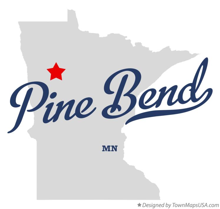 Map of Pine Bend Minnesota MN