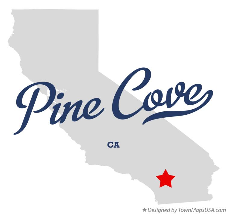 Map of Pine Cove California CA