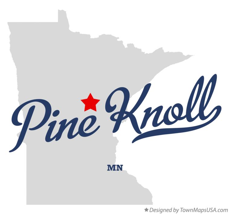 Map of Pine Knoll Minnesota MN