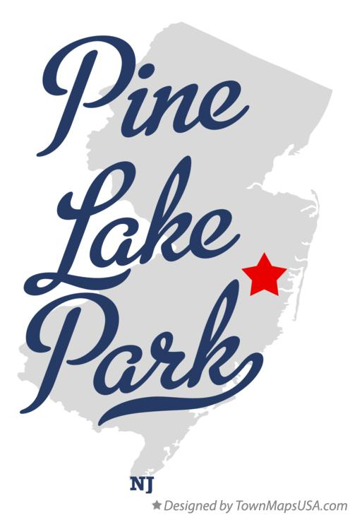 Map of Pine Lake Park New Jersey NJ