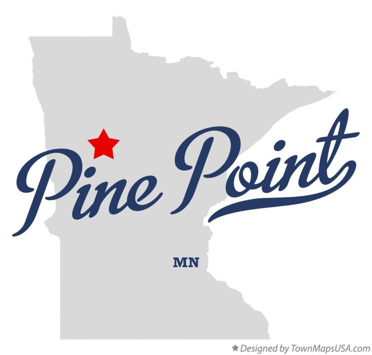 Map of Pine Point Minnesota MN