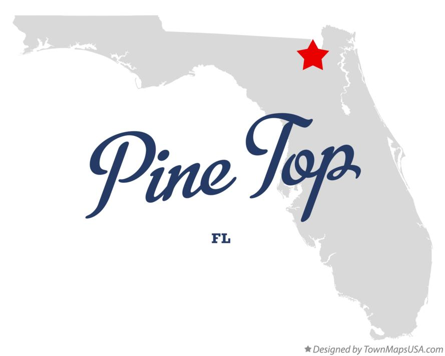Map of Pine Top Florida FL