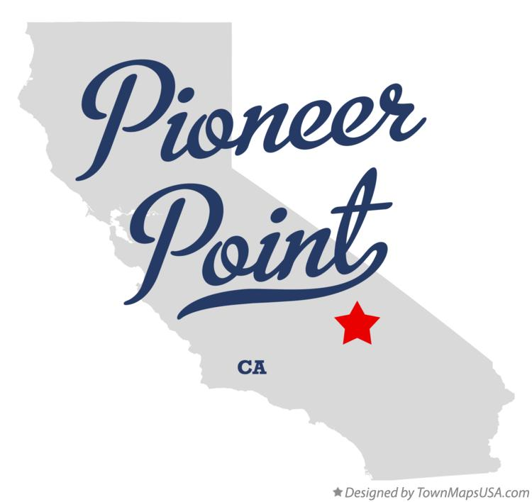 Map of Pioneer Point California CA