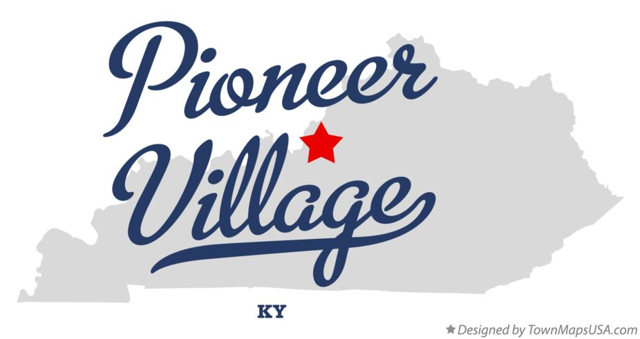 Map of Pioneer Village Kentucky KY