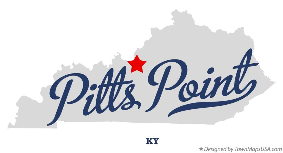 Map of Pitts Point Kentucky KY