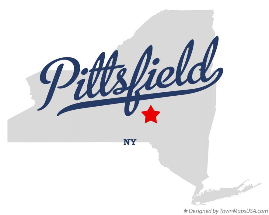 Map of Pittsfield New York NY