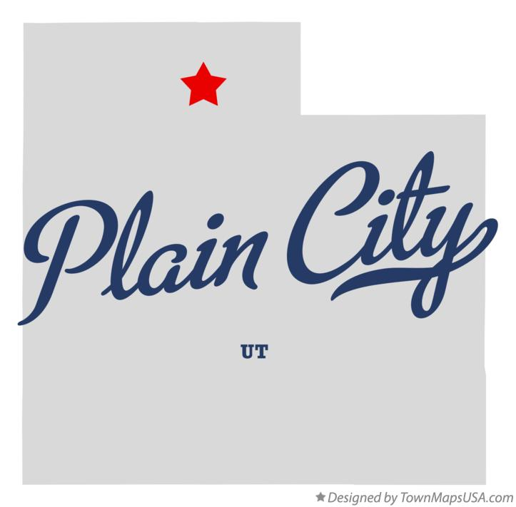 Map of Plain City Utah UT